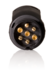 13-7 polige adapter (7-polig op auto)_